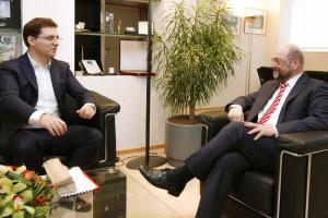 Martin SCHULZ - EP President, Victor NEGRESCU