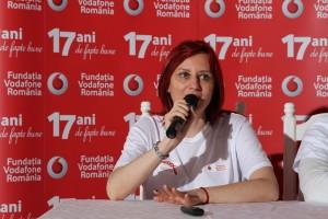 Angela Galeța, Director Fundatia Vodafone Romania