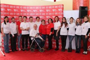 Echipa de voluntari ai Asociatiei SM Speromax Alba