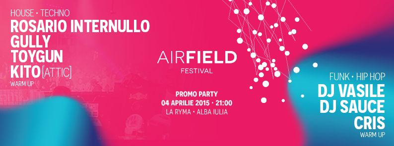 airfield promo party