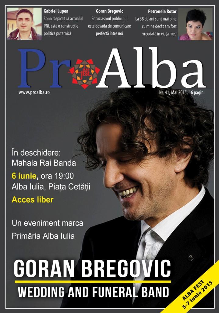 Coperta ProAlba mai 2015
