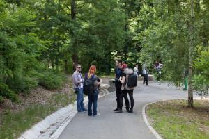 fotografi in parc