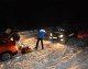 Jandarmii din cadrul Postului Montan Şugag au intervenit oportun pentru salvarea a doi turişti blocaţi în zăpadă