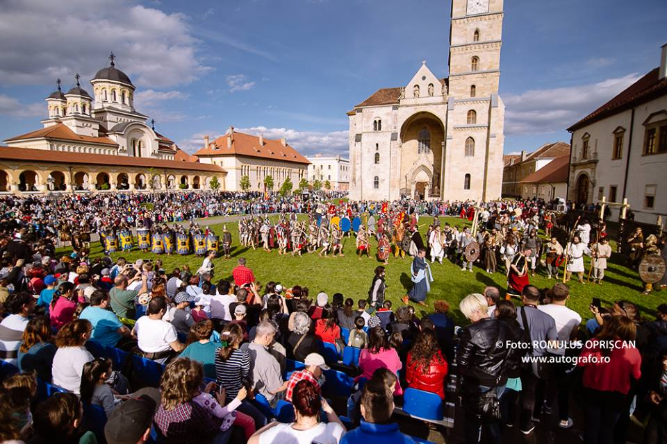27 aprilie-1 mai: O nouă ediție a Festivalului Roman Apulum, în Cealaltă Capitală. PROGRAMUL evenimentului