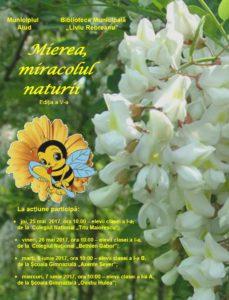 mierea miracolul naturii