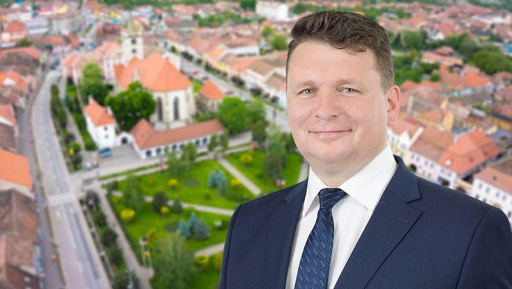 Primarul Dorin Nistor dublează investițiile la Sebeș, prin atragerea de fonduri nerambursabile