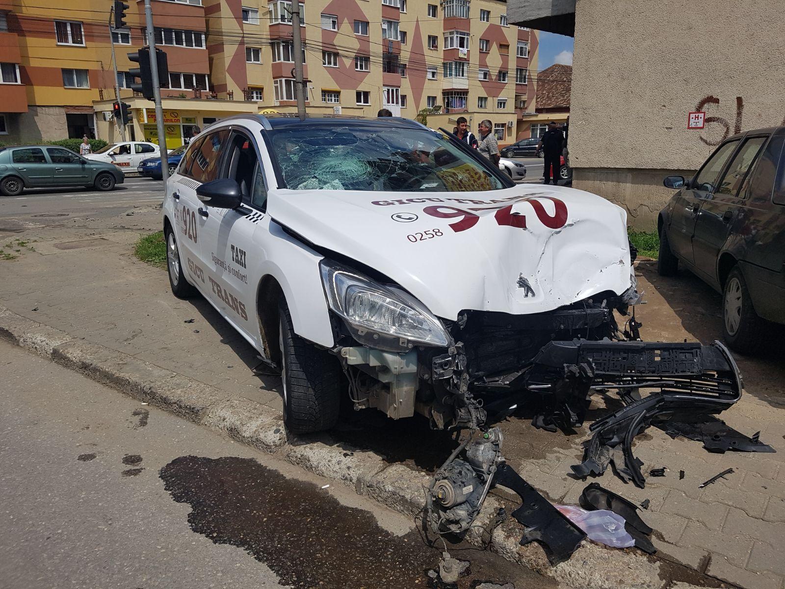 taxi accident alba iulia