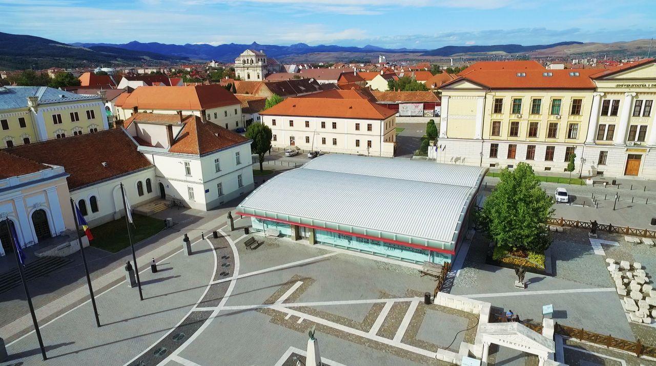 Sistem de realitate augumentată la Muzeul Principia din Alba Iulia
