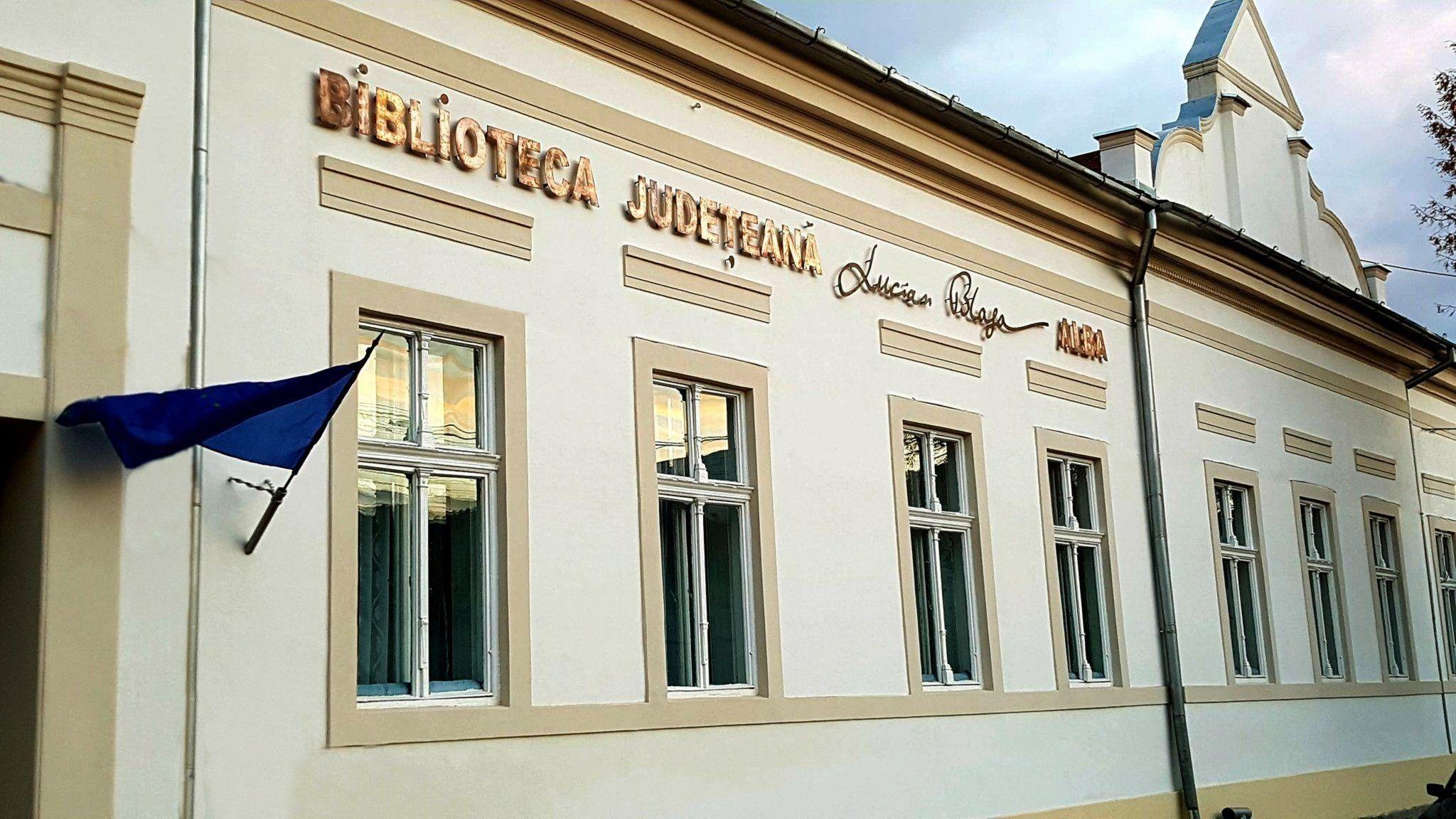 """Depozitul legal de documente la  Biblioteca Județeană ,,Lucian Blaga"""" Alba"""