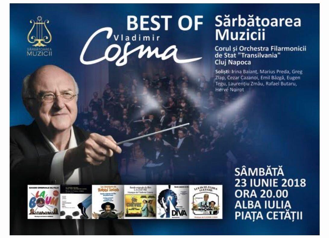 22-24 iunie: Sărbătoarea Muzicii, la Alba Iulia. Musicalul Mamma Mia, dirijorul și compozitorul Vlad Cosma și câștigătorii de la Vocea României