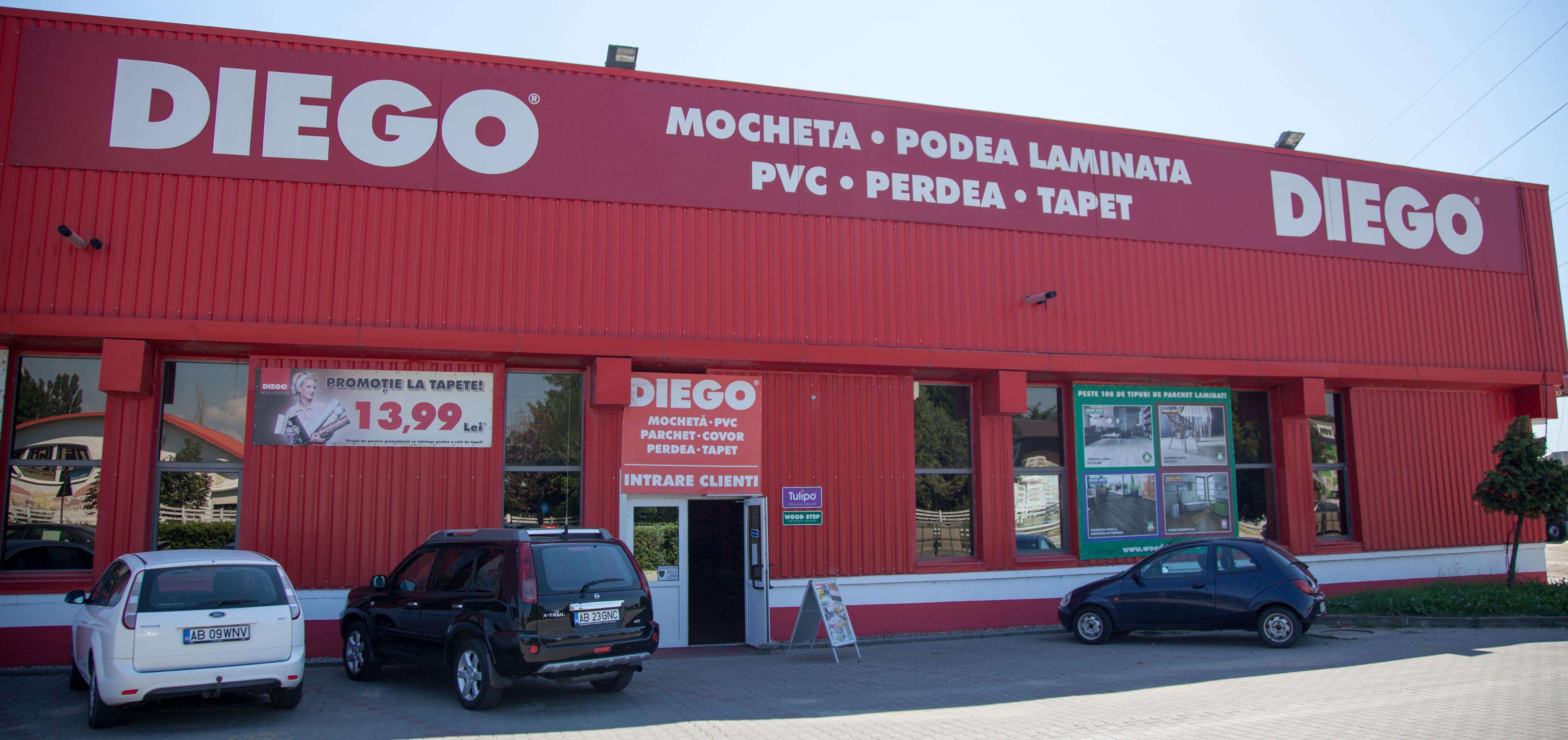 Magazinul DIEGO din Alba Iulia, soluția perfectă pentru amenajarea sau reamenajarea căminului dumneavoastră!