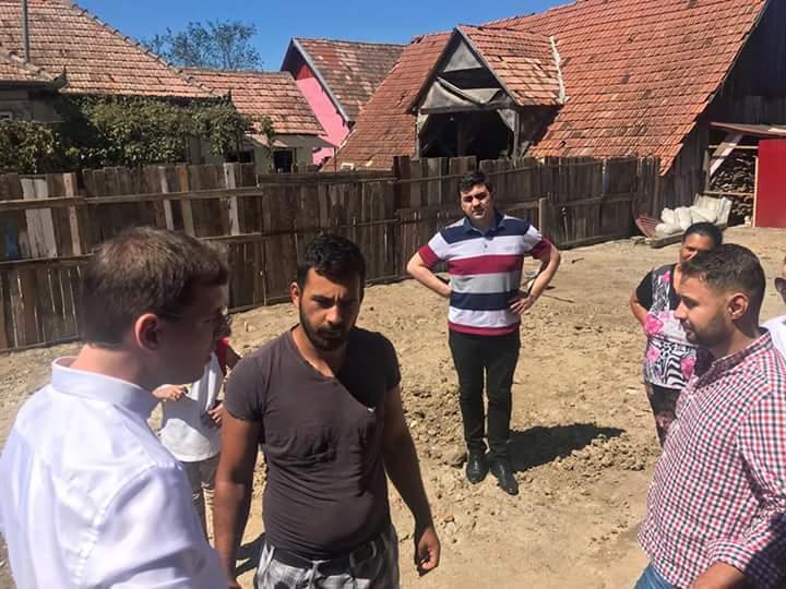 Acţiune caritabilă a PES Activists Alba în comuna Şona