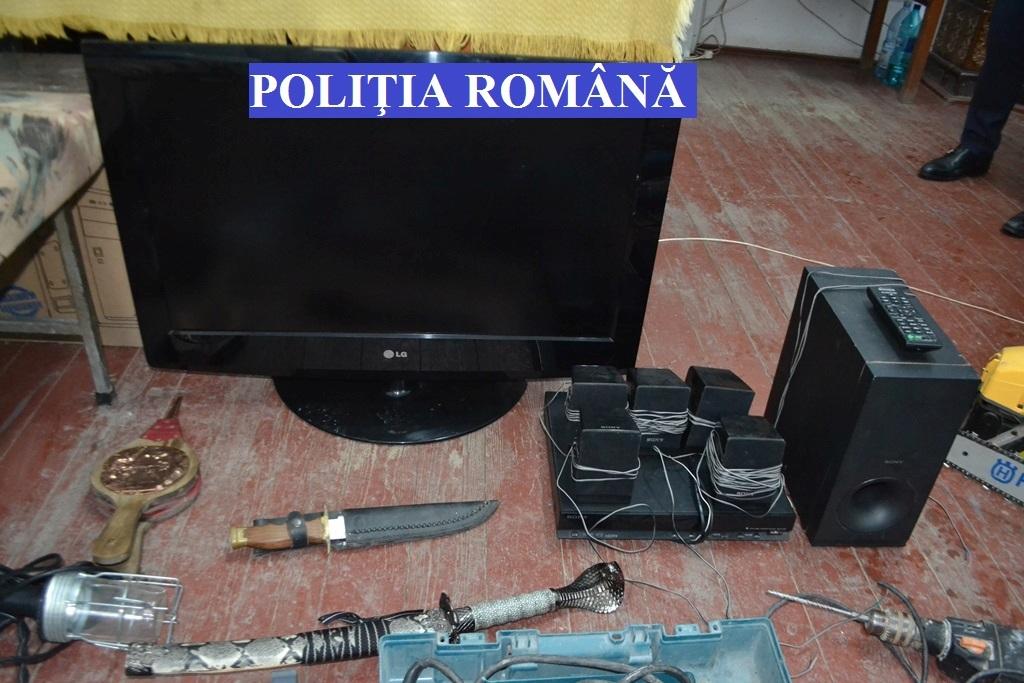 Membrii unei bande de hoți din Blaj au fost reținuți de poliție