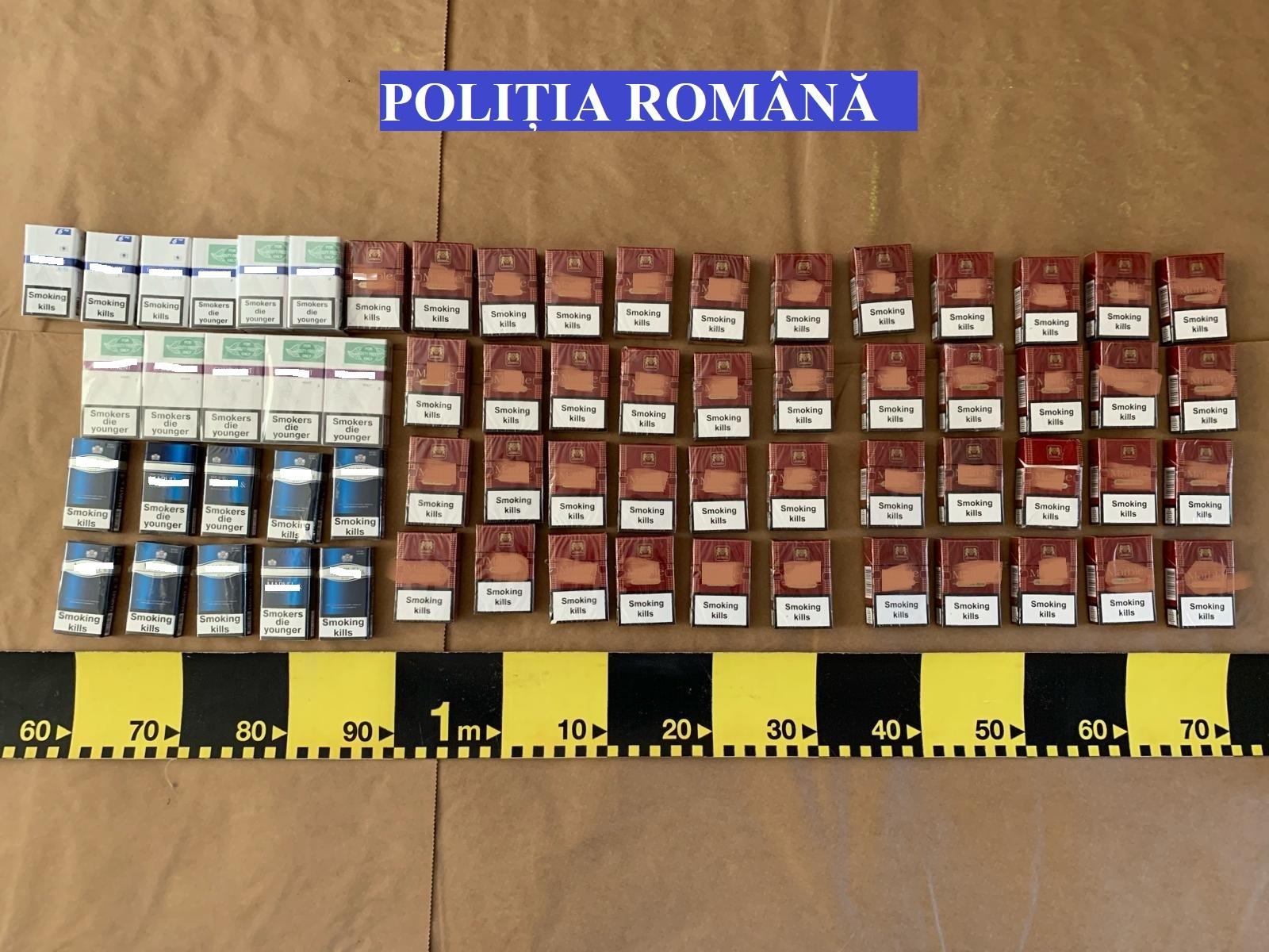 Doi bărbaţi din Albac, tată şi fiu, sunt cercetaţi pentru contrabandă cu ţigări