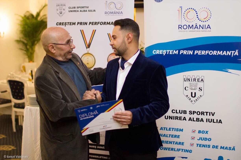 Primele clasări pe podium pentru CS Unirea Alba Iulia în acest an, la Campionatul Național de Haltere și Cupa României
