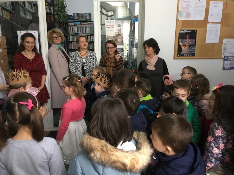 """Biblioteca Județeană ,,Lucian Blaga"""" Alba vine în întâmpinarea preșcolarilor și a elevilor din unitățile de învățământ din județul Alba cu un nou proiect"""
