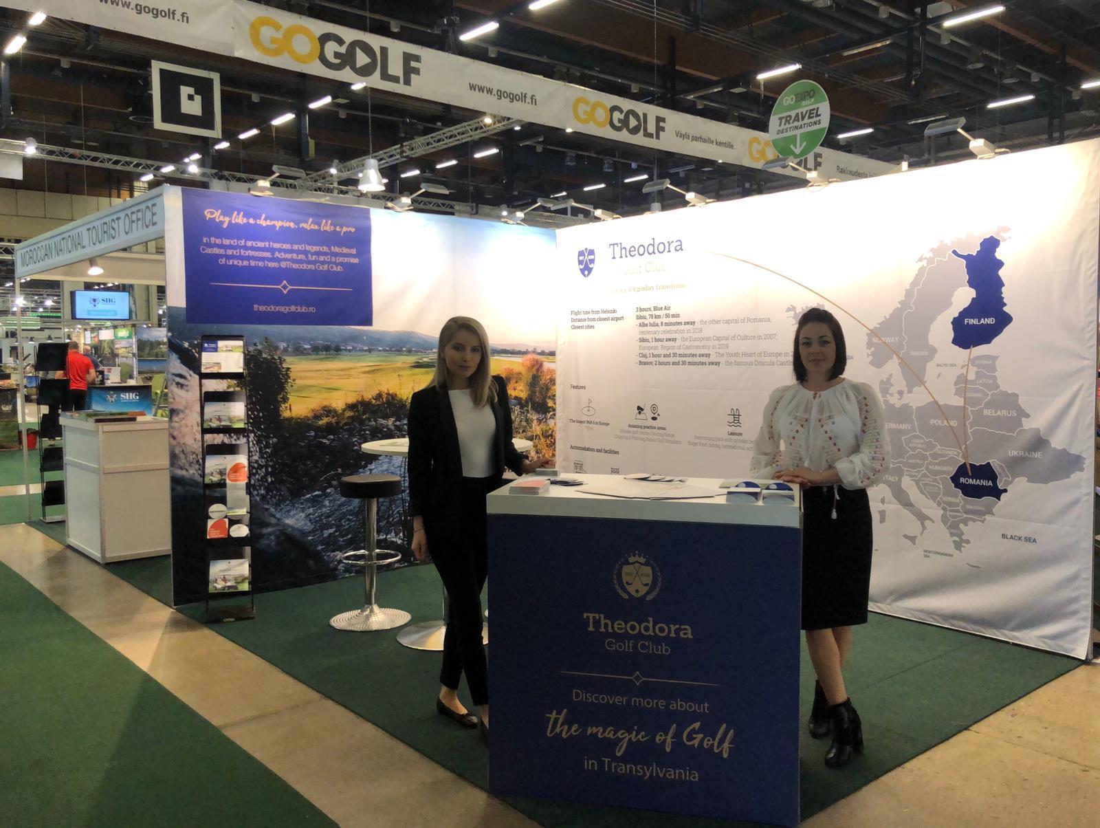 Premieră: Theodora Golf Club participă, cu stand propriu, la Go Expo Helsinki 2019, Finlanda