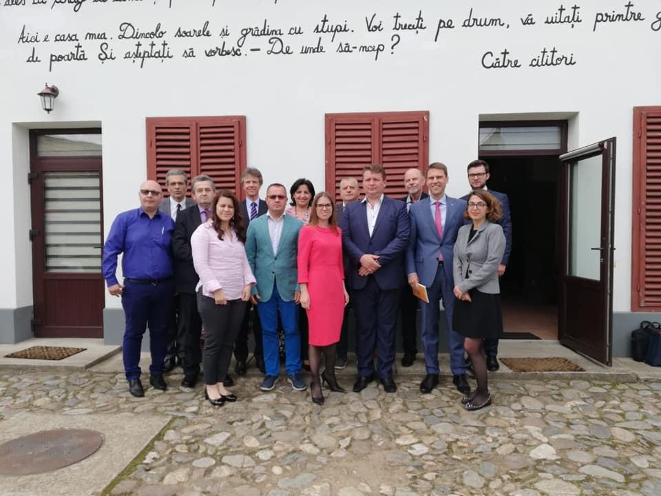 Delegație la nivel înalt, primită de autoritățile din Sebeș