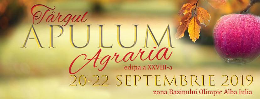 20-22 septembrie: La Alba Iulia are loc o nouă ediție a Târgului Apulum Agraria