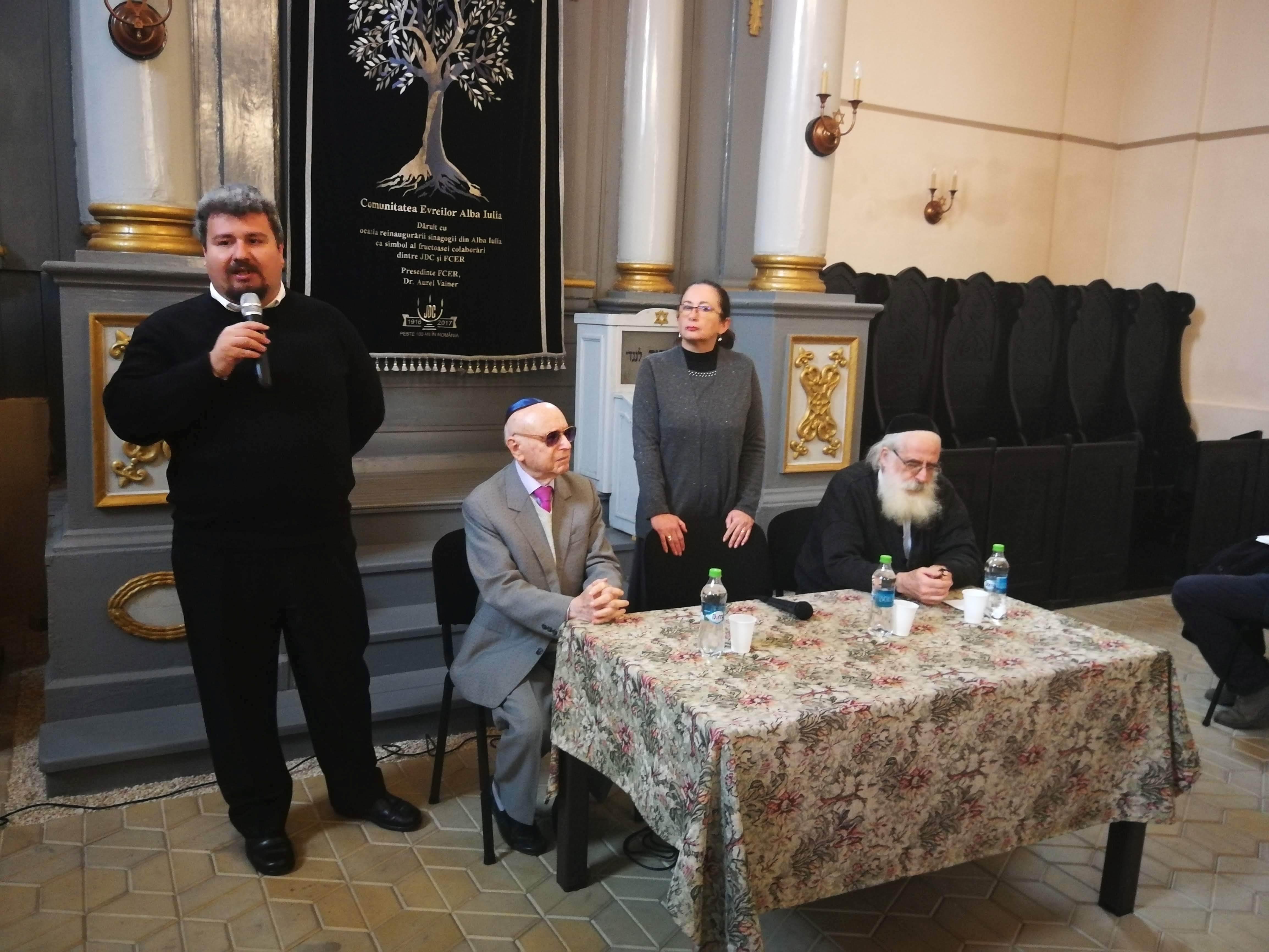 Eveniment de diseminare a proiectului Crocus derulat de Primăria Municipiului Alba Iulia, la Sinagoga din Alba Iulia