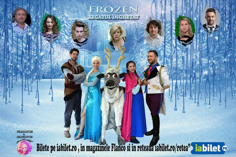 """4 decembrie: """"Frozen, Regatul Înghețat, un musical de excepție găzduit de Centrul Cultural """"Lucian Blaga"""" Sebeș"""