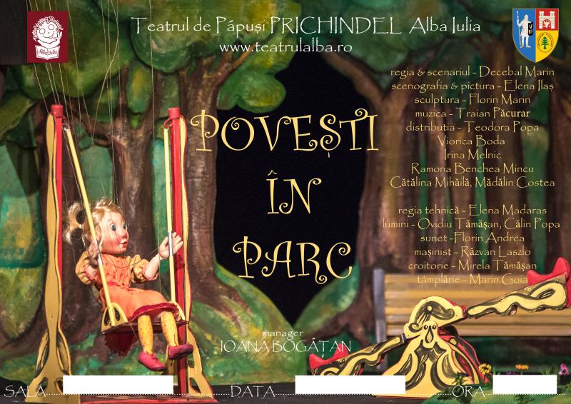 """Teatrul de Păpuși """"Prichindel"""" și Consiliul Județean Alba vă invită să sărbătoriți 1 Decembrie într-un spațiu elegant și primitor. PROGRAMUL evenimentului!"""