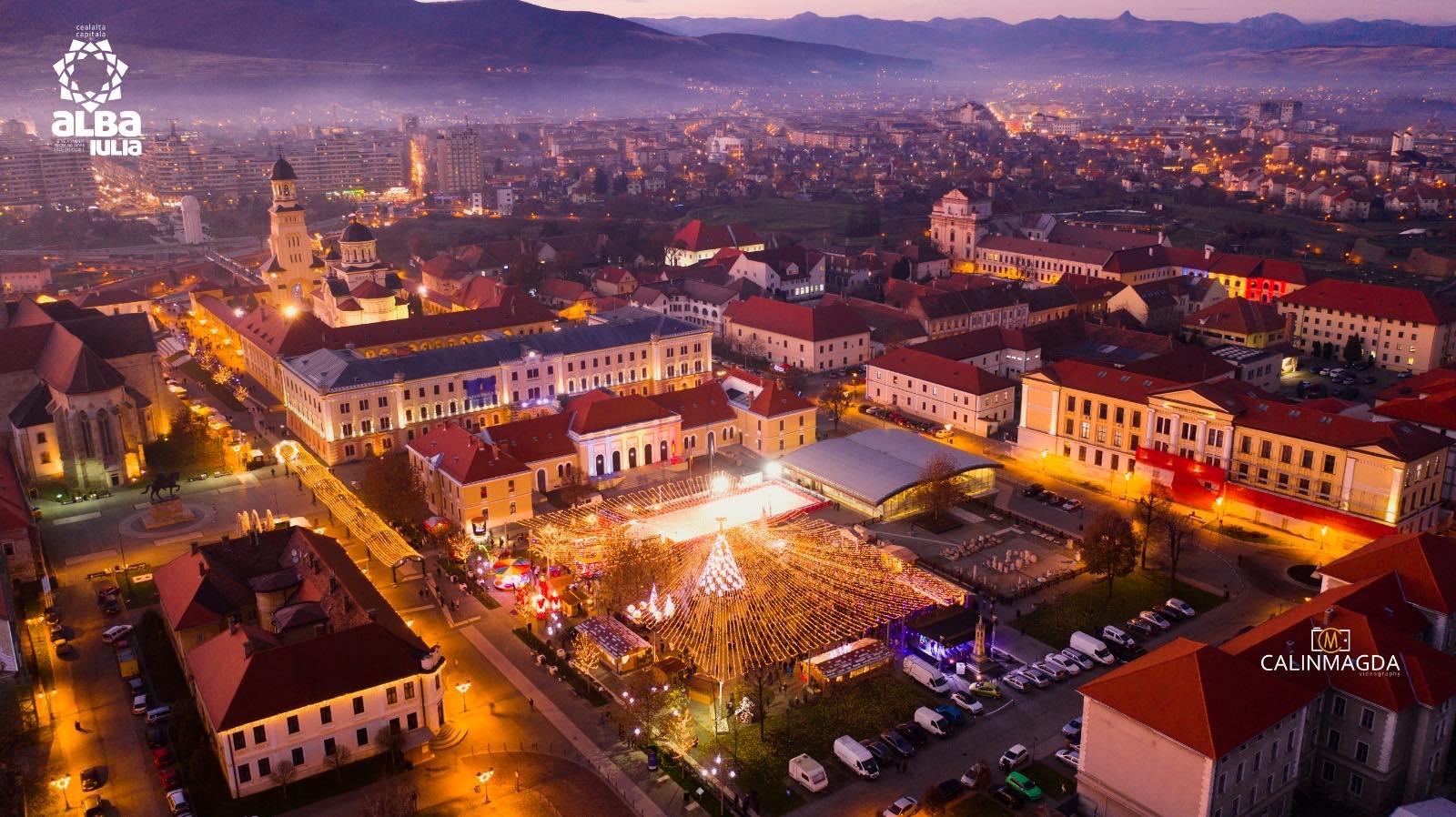 Alba Iulia: Programul evenimentelor din Parcul Sărbătorilor de Iarnă