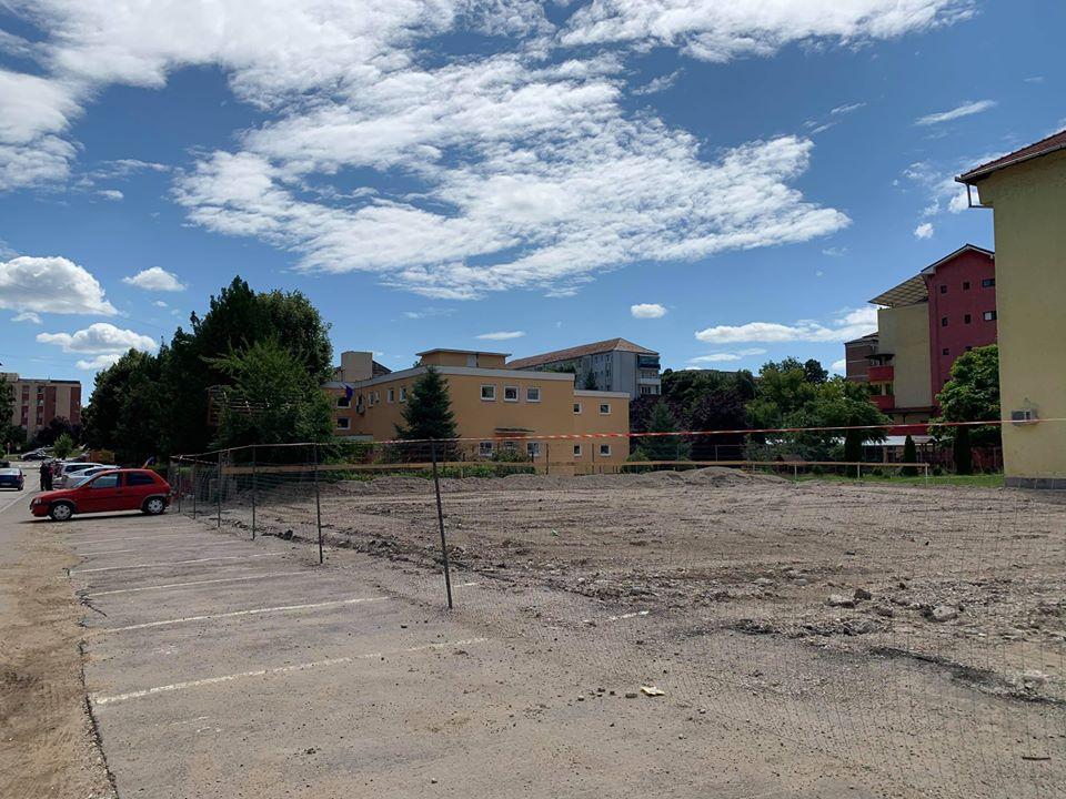 Aiud: Au demarat lucrările pentru construirea unei noi grădinițe, pe strada Unirii din municipiu