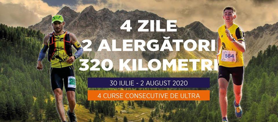 Tânăr din Zlatna, la Apuseni4Ultra. 4 zile, 2 alergători, 320 de kilometri, pentru o cauză caritabilă!